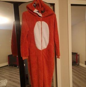 fox onesie costume dress up